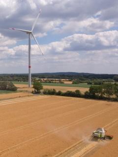 Windkraftanlage Uthuisen